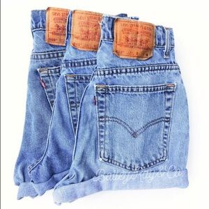 Never worn Levi's shorts